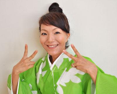 嬉野豊踊会会主  林有紀子さん