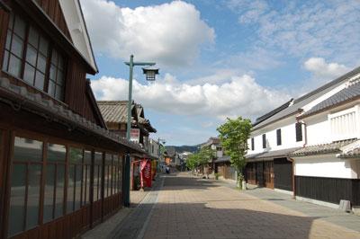 塩田津の街並み1