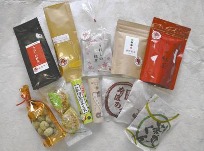 うれしの紅茶とお菓子セット