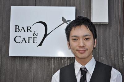 「Bar&Cafe Y」オーナー 山口 弘毅さん(34)