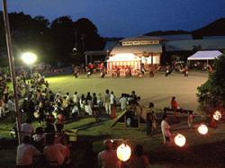 The 44th Yoshida summer festival (*'ω'*) which there is stage event of local people in!